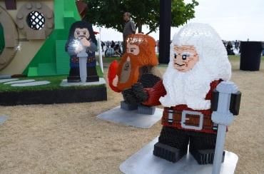 San Diego Comic-Con LEGO Dwarves