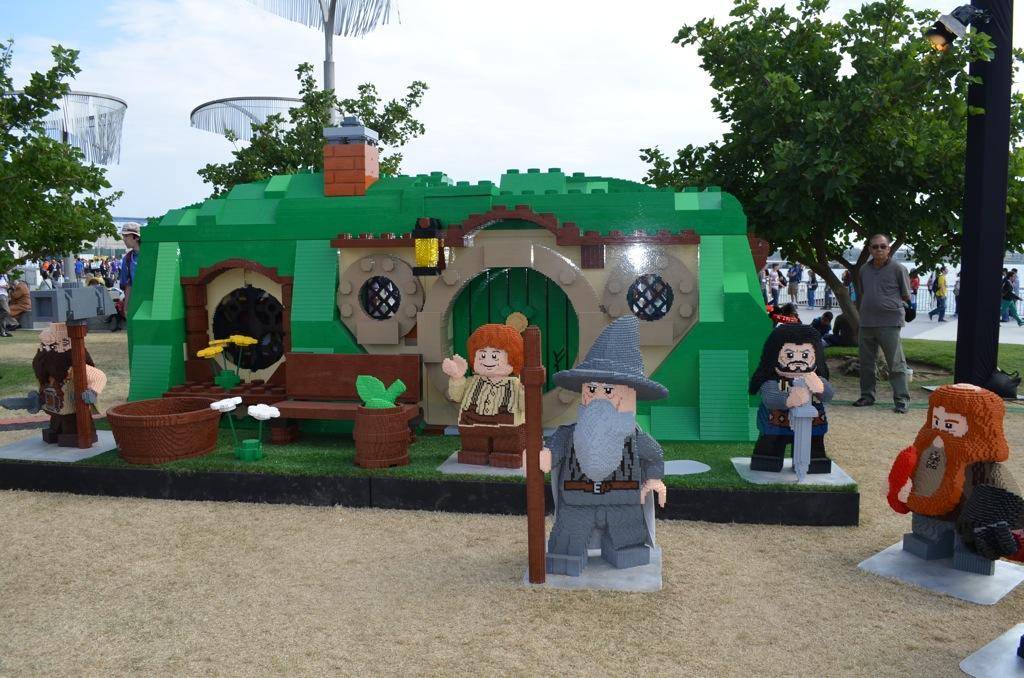 San Diego Comic-Con LEGO Hobbiton