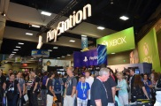 San Diego Comic-Con Playstation and Xbox Booths