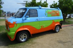San Diego Comic-Con Scooby Doo Mystery Machine