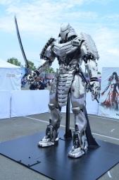 San Diego Comic-Con Silver Samurai Replica Statue