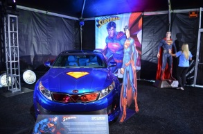 San Diego Comic-Con Superman Kia Optima Hybrid