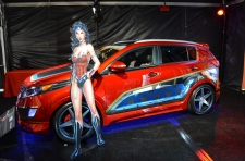 San Diego Comic-Con Wonder Woman Car