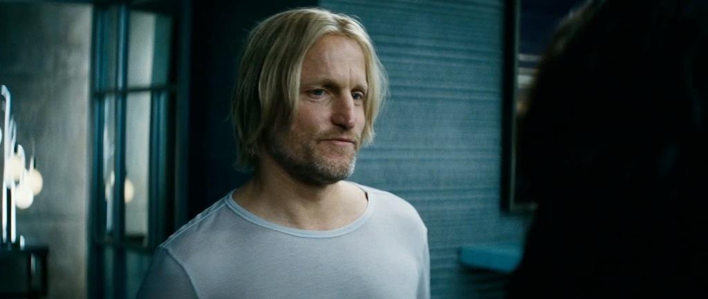 The Hunger Games Catching Fire Trailer Screenshot Haymitch Abernathy