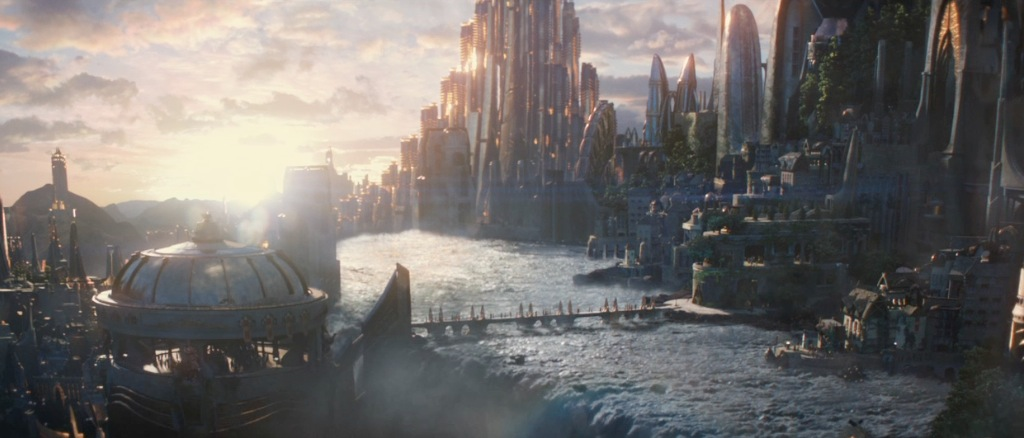 Thor The Dark World Movie Trailer Screenshot Asgard