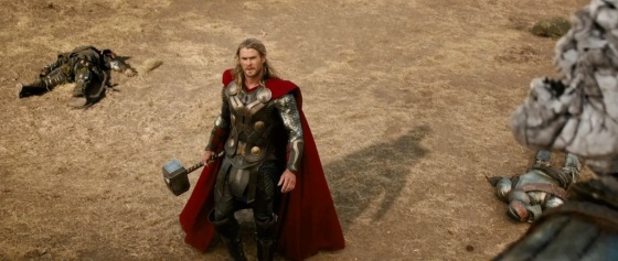Thor The Dark World Movie Trailer Screenshot Chris Hemsworth Thor