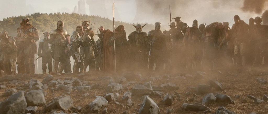 Thor The Dark World Movie Trailer Screenshot Defeated Kronan