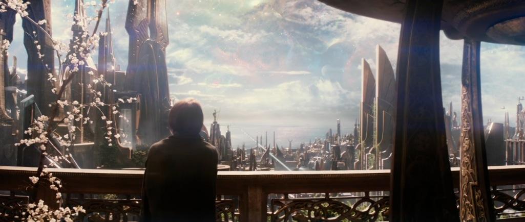 Thor The Dark World Movie Trailer Screenshot Jane in Asgard