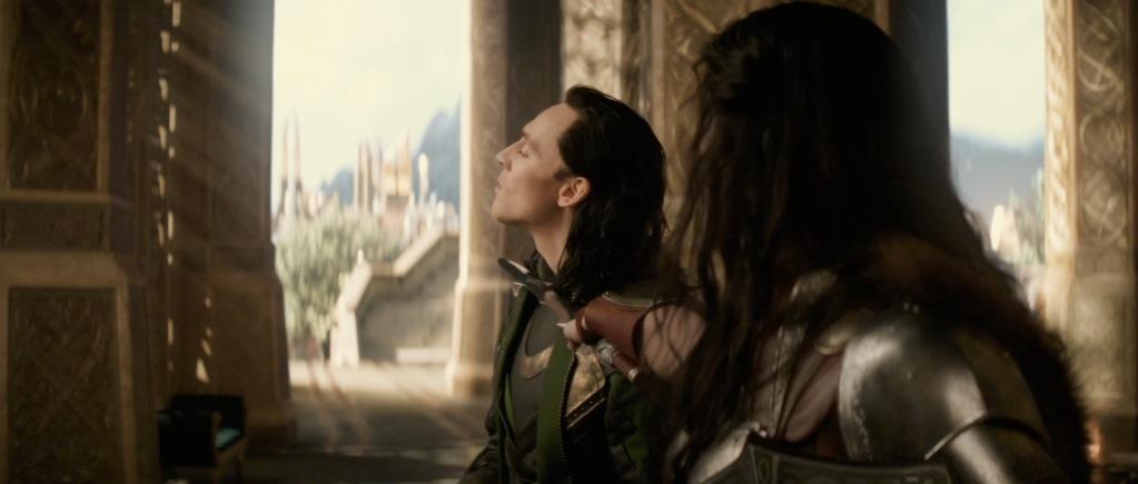 Thor The Dark World Movie Trailer Screenshot Loki and Sif