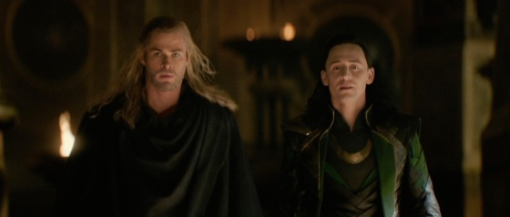 Thor The Dark World Movie Trailer Screenshot Loki and Thor