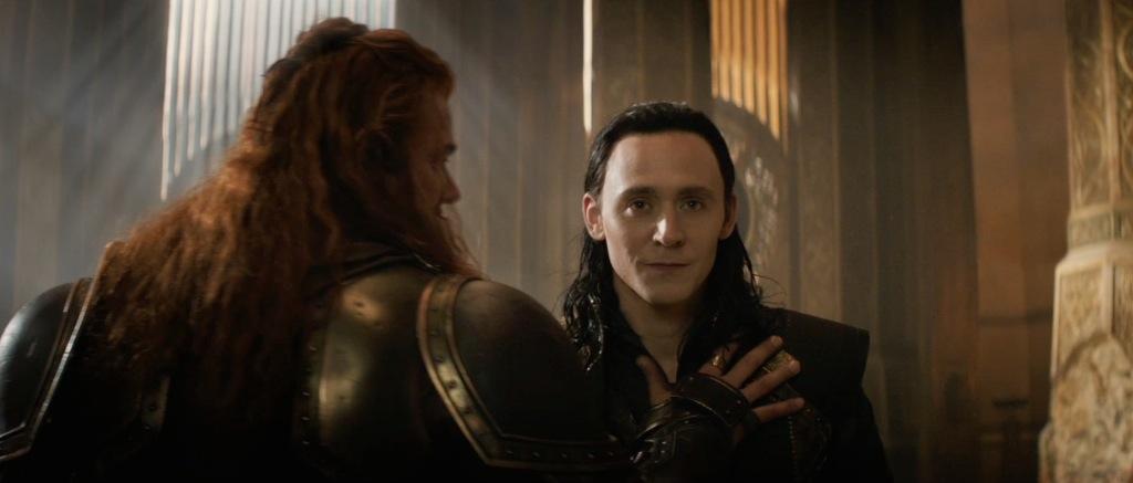 Thor The Dark World Movie Trailer Screenshot Loki and Volstagg