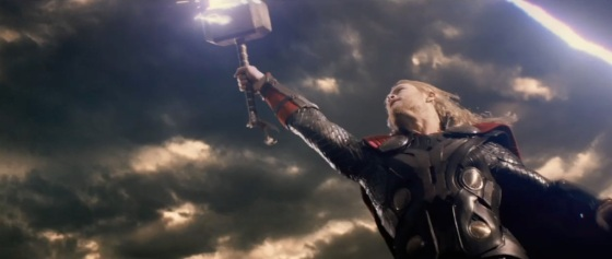 Thor The Dark World Movie Trailer Screenshot Thor the Mighty