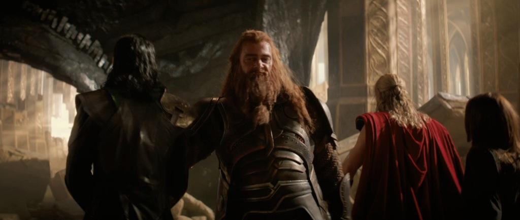 Thor The Dark World Movie Trailer Screenshot Volstagg