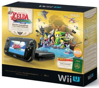 Wii U Legend of Zelda Wind Waker HD Bundle