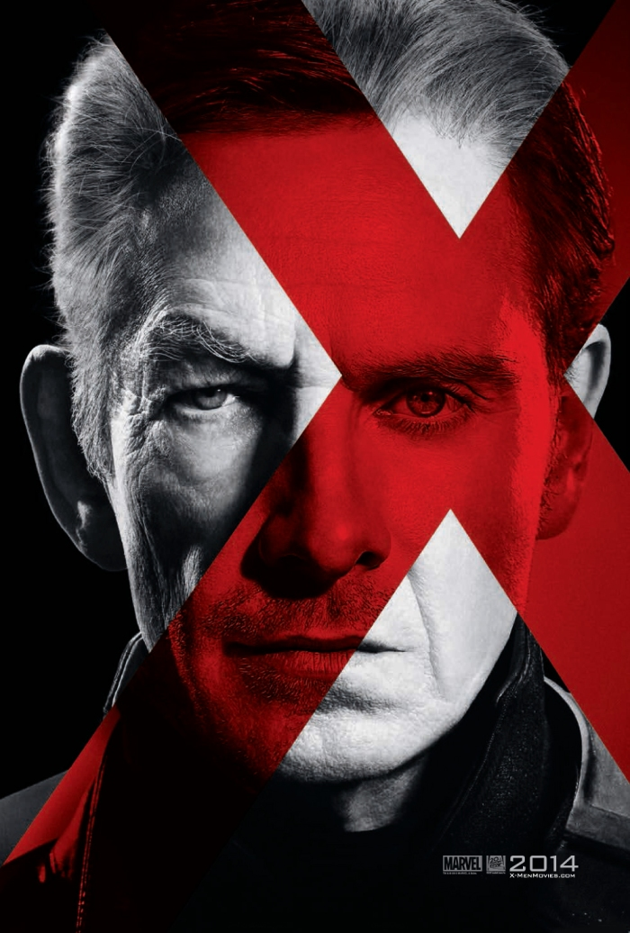 First Teaser Posters for X Men Days of Future Past Feature Xavier Magneto and Sentinels Turn The Right Corner
