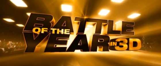 Battle of the Year in 3D Title Movie Logo