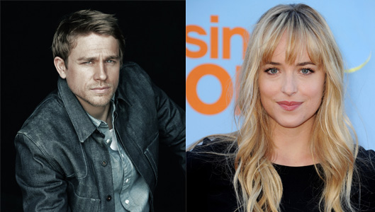Charlie Hunnam and Dakota Johnson Cast in 'Fifty Shades of Grey'