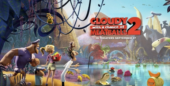 'Cloudy with a Chance of Meatballs 2' Movie Review