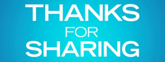 Thanks for Sharing Title Movie Logo