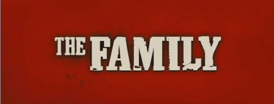 The Family 2013 Title Movie Logo