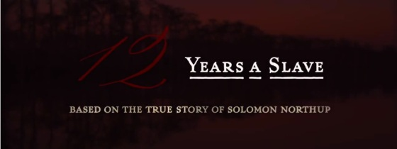 12 Years a Slave Title Movie Logo