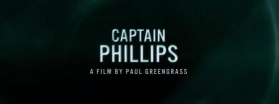 Captain Phillips Title Movie Logo