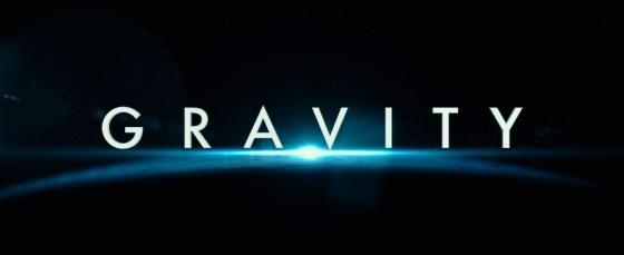 Gravity Movie 2013 Title Logo