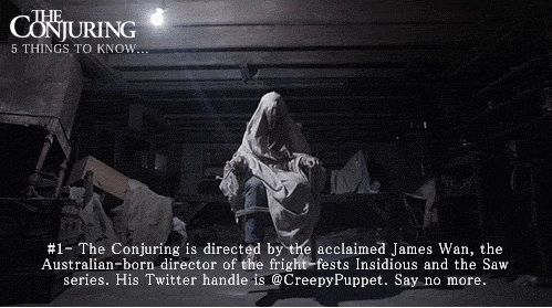 The Conjuring Fun Facts 1