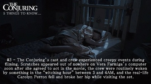 The Conjuring Fun Facts 3