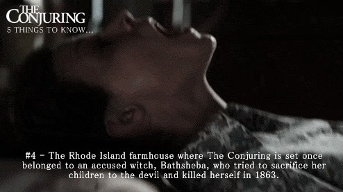 The Conjuring Fun Facts 4