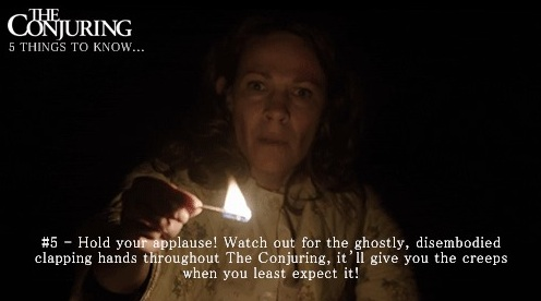 The Conjuring Fun Facts 5