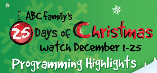 abc familys 25 days of christmas 2013 - Abc 25 Days Of Christmas Schedule 2014