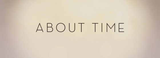 About Time Title Movie Logo