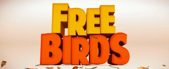 Free Birds 2013 Title Movie Logo
