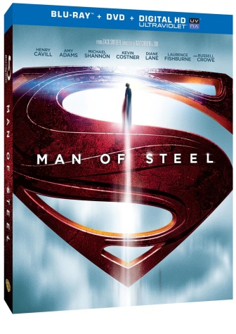 Man of Steel Blu-Ray Cover Art