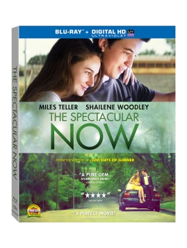 The Spectacular Now Blu-Ray Cover Art