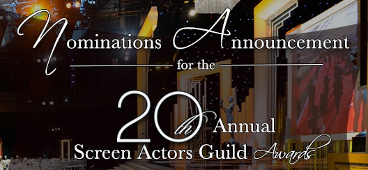 20th Annual SAG Awards Nominees Announced