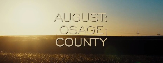 August Osage County Title Movie Logo