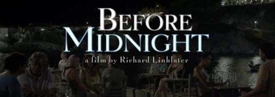 Before Midnight Title Movie Logo