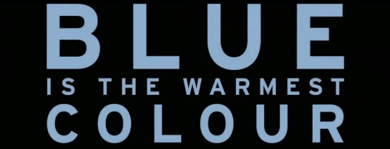 Blue is the Warmest Color Title Movie Logo