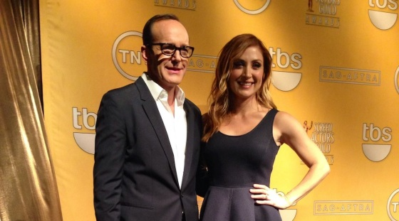 Clark Gregg and Sasha Alexander SAG Awards