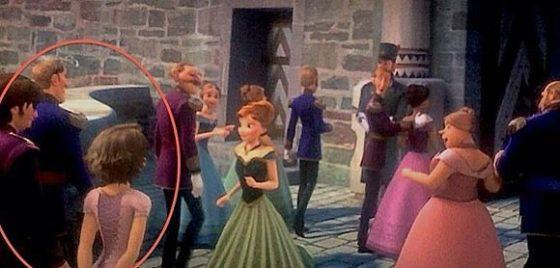 Disney's Frozen Rapunzel Cameo