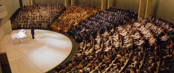 Divergent Movie Teaser Auditorium
