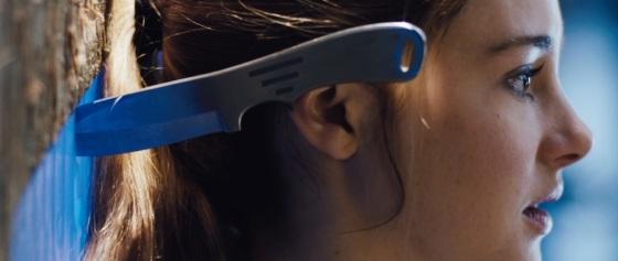 Divergent Movie Teaser Knife