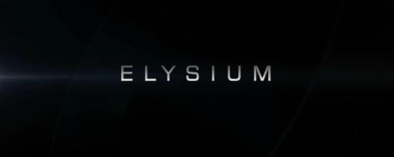 Elysium Title Movie Logo