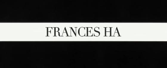 Frances Ha Title Movie Logo