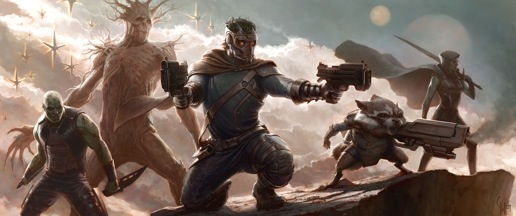 Guardians of the Galaxy Movie 2014