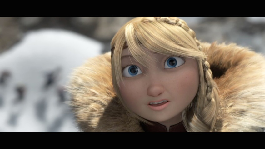 How To Train Your Dragon 2 Still Astrid Turn The Right Corner