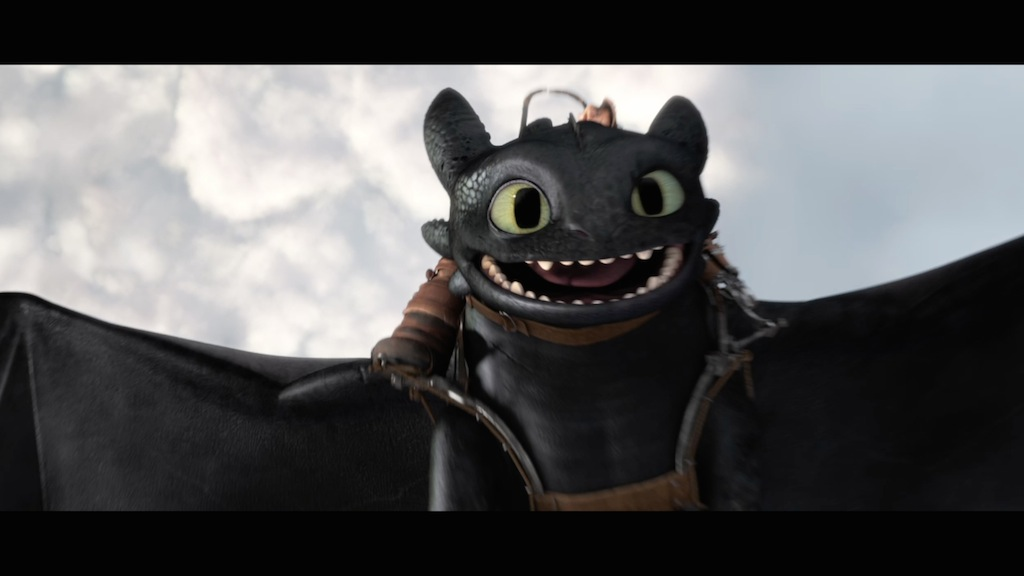 How to Train Your Dragon 2 Still Toothless Smile