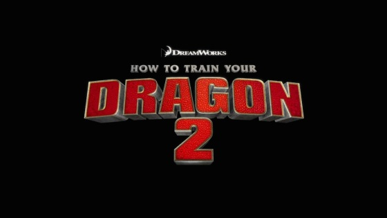 How to Train Your Dragon 2 Title Movie Logo